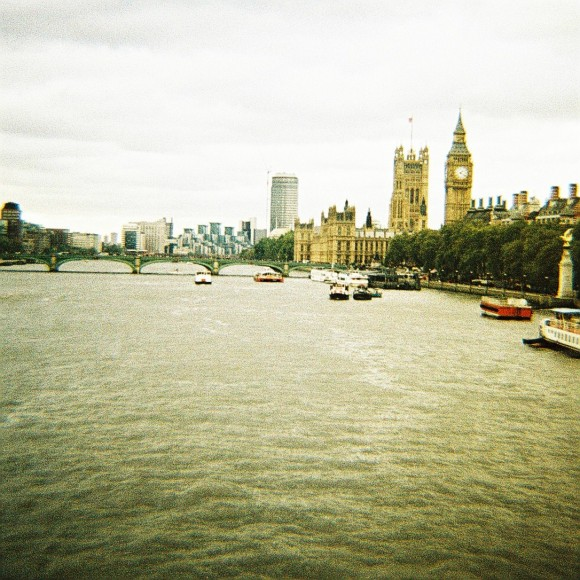 London Embankment - Winter